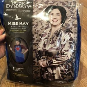 NWT* Miss Kay Robertson Costume 💙 Duck Dynasty 🦆